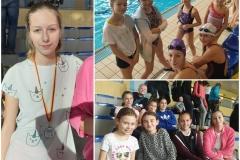 Uczestnicy Igrzysk Miasta Białegostoku w pływaniu dzieci